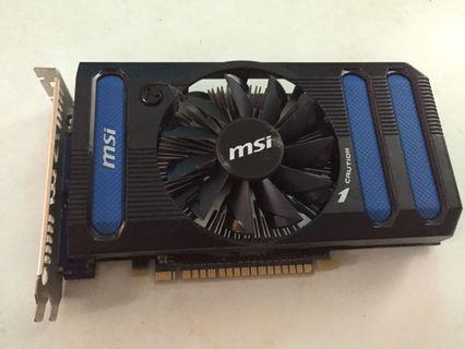 Msi gtx 550 TI 1GB DDR5