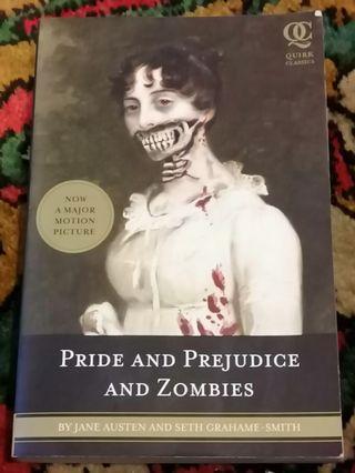Pride and Prejudcie and Zombies #MGAG101