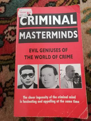 Criminal Mastermind #MGAG101