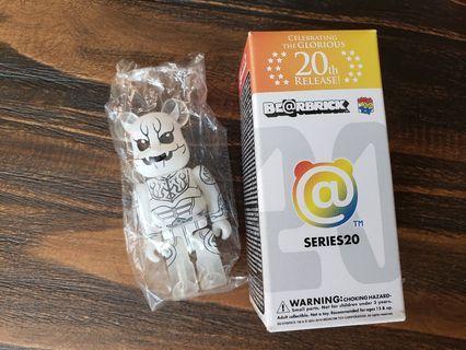 Bearbrick Series 20 幪面超人 電王 隱藏版 100% 1000%