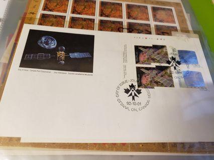 NASA space stamps