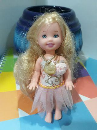 ♡Original Barbie Kelly with 💗pendant not including dress