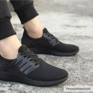 [READY STOCK] UNISEX SNEAKERS SPORTS SHOES (BLACK)