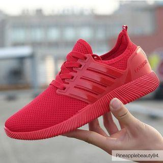 [READY STOCK] UNISEX SNEAKERS SPORTS SHOES (RED)