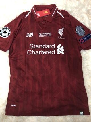 Liverpool UCL Final Jersey