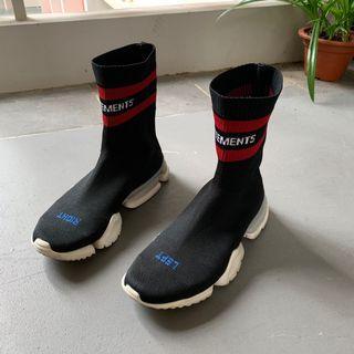Vetements Sock Shoe high cut