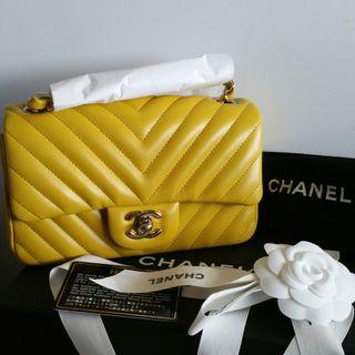 Brand New Chanel Mini Rectangular Lambskin