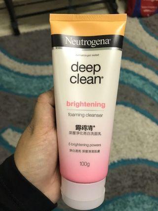 Neutrogena Brightening Cleanser(free postage) #JuneToGo