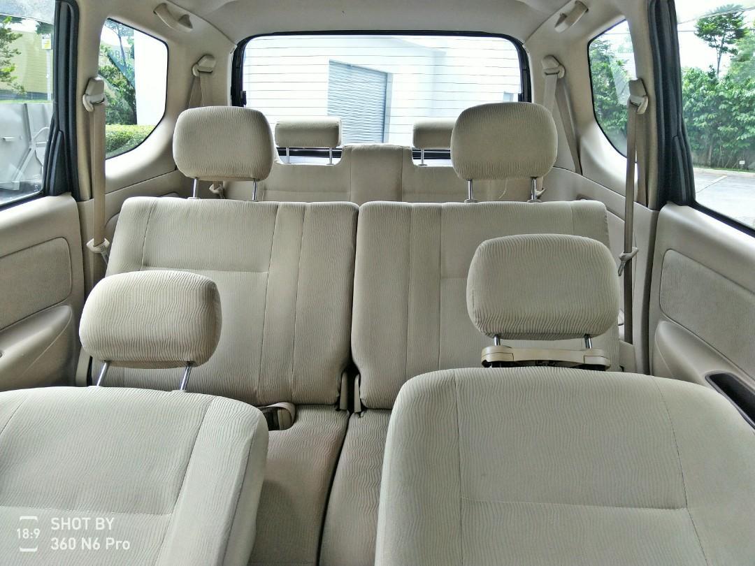 2008 Toyota AVANZA G SPEC 1.5 (A) dp 2990 LOAN KEDAI KERETA PASTI LULUS.