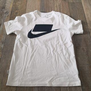 Nike 白色logo tee