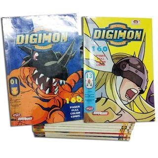 Komik Digimon Adventure Full Color