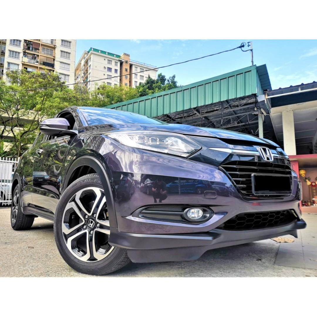 2017 Honda HR-V 1.8 i-VTEC V SUV (A)[UNDER WARRANTY][FULL SERVICED RECORD][1 OWNER]