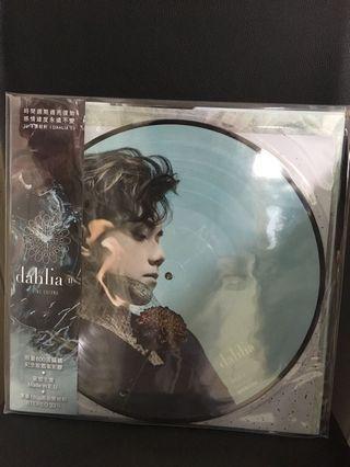 張敬軒 Dahlia 2 限量版圖案黑膠唱片