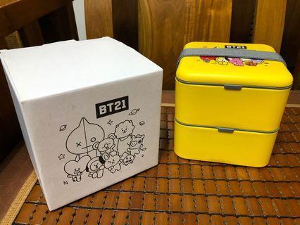 BT21 雙層餐盒