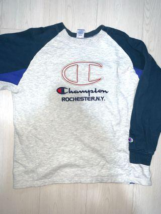vintage champion sweater pullover
