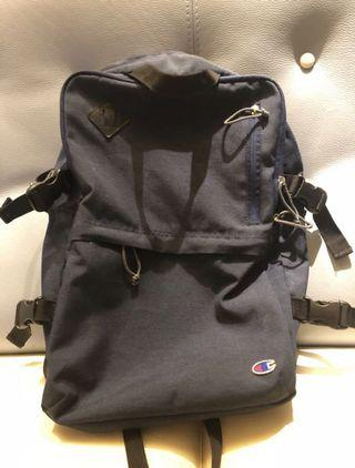 Champion 深藍色 背包 輕便 Backpack Bag