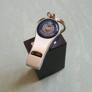 香港警察 銀哨匙扣