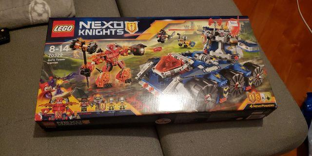 AXL'S TOWER CARRIER - 70322  Nexo Knights 全新購自Sogo,全新未開封
