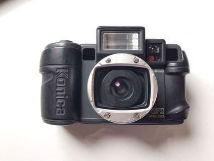 [ 送電池 ]現場監督 Konica zoom 變焦版 防水底片相機