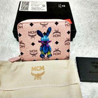 MCM Pink Short Wallet