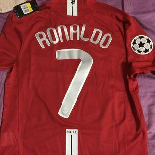 Manchester United 07/08 UCL Final Jersey