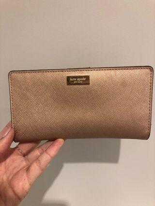 Kate spade wallet Rose Gold