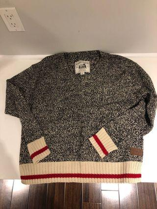 Roots womens S cabin sweater