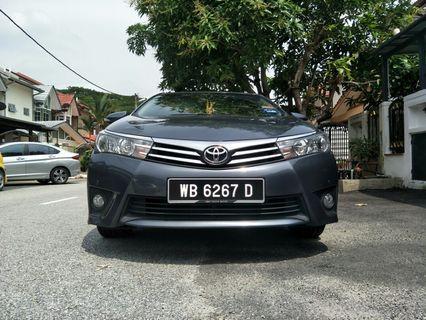 2015 Toyota Corolla Altis 1.8G