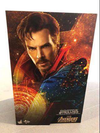 Hottoys Infinity War Doctor Strange 奇異博士 2.0 淨 紙盒 配件 拆散賣