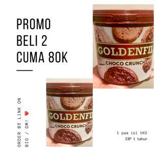 2 TOPLES GOLDENFIL CHOCO CRUNCHY