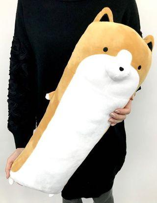 Cute long cushion Taro Shiba plush toy