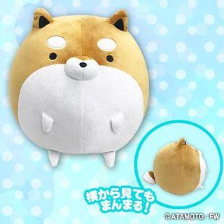 Round big Super fat Shiba plush toy!