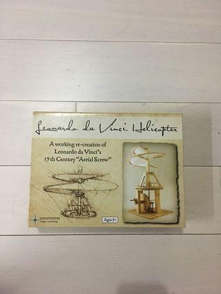"A working re- creation of leanardo Vinci's 15th century ""Aerial Scare"""