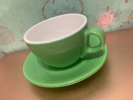 陶瓷 多色 咖啡杯盤組