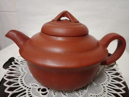 🚚 泡茶壺 陶土茶壺(寬11.5cm*高7cm)(重115g)