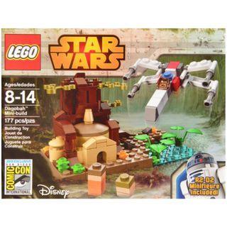 SDCC 2014 LEGO StarWars Dagobah Mini Build (#690)