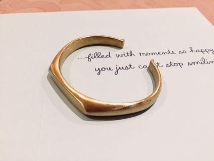 Men's Stainless Steel Gold Plated Bracelet