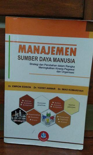 buku manajemen sumberdaya manusia
