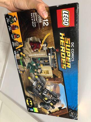 Batman lego (全新,盒有d花)