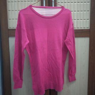 #maudandan sweater pink