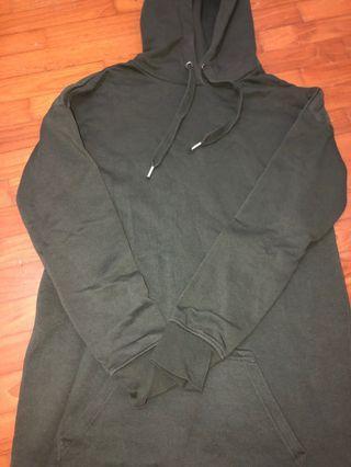 Navy Green Pullover