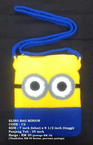#MGAG101 NEW CROCHET BAG