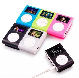 Fashion Mini mp3 USB Clip MP3 Player LCD Screen Support 32GB Micro SD TF Card