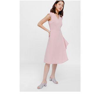 Love Bonito Melja Cascade Midi Dress