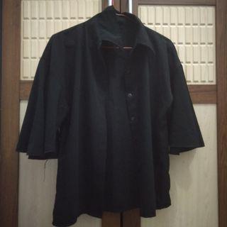 #maudandan kemeja hitam