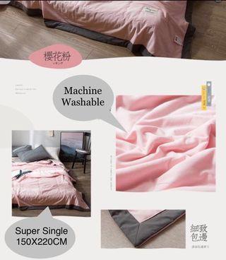 BN Machine Washable Summer Comforter/Blanket Super Single