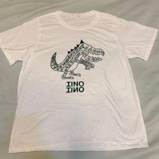 全新正韓恐龍圖案T-Shirt