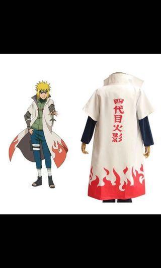 🚚 Minato 4th hokage coat