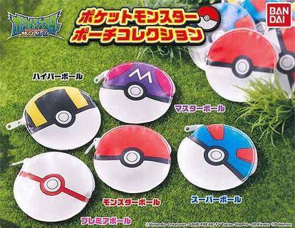 全新 精靈球 散銀包 扭蛋 散紙包 寵物小精靈 pokemon