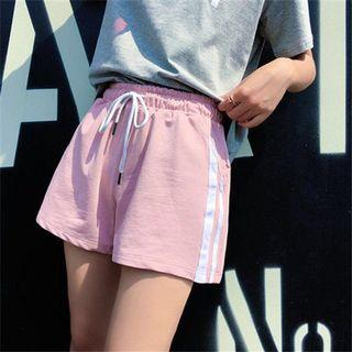New 2019 summer sports shorts for women look slimmer and looser with wide legs